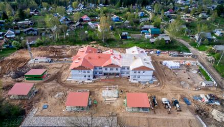Строительство детского сада на 140 мест ведётся в соответствии с планом-графиком
