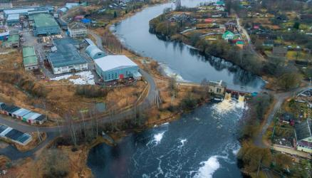 При эксплуатации плотин в Окуловском районе обнаружено нарушение Федерального закона «О безопасности гидротехнических сооружений»