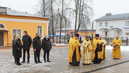 В Окуловке открылся Духовно-просветительский центр