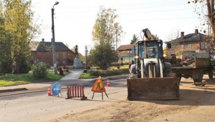 Время ремонта: в городе и районе приводятся в порядок дороги