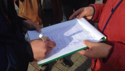 Жители Окуловского района собирают подписи против нового кладбища