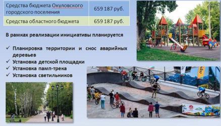 Окуловское городское поселение принимает участие в реализации проекта «Народный бюджет», который стартовал в прошлом году