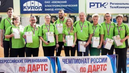 Окуловские дартсмены стали призерами командного чемпионата России