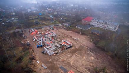 Строительство детского сада должно завершиться в первом квартале следующего года