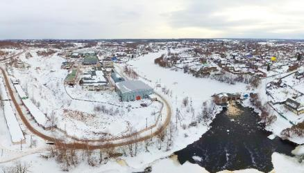 "Аэропанорама ""Обреченская ГЭС"""