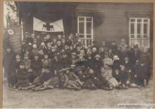 открытие Парахинской больницы 7 ноября 1929 г.