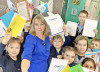 Елена МЕТЕЛЬСКАЯ, учитель начальных классов средней школы № 1, куратор РДШ школы, стала одним из победителей областного конкурса «Лучший учитель»